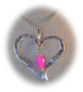 caroll bohemia pendentif coeur