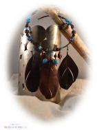 caroll bohemia pendentif indien